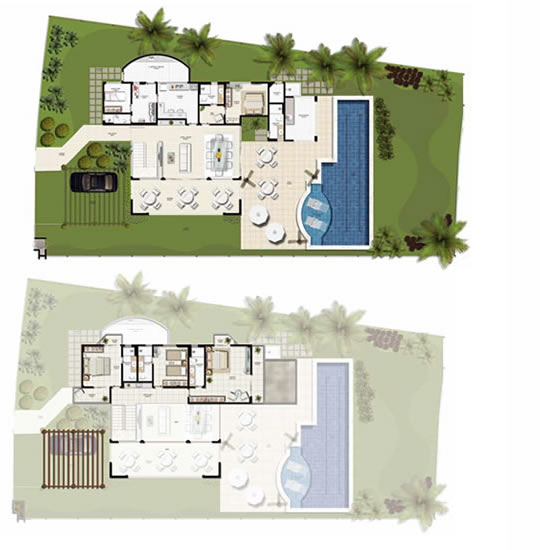 Beachfront real estate in dominican republic and brazil for Concepteurs de plans haut de gamme
