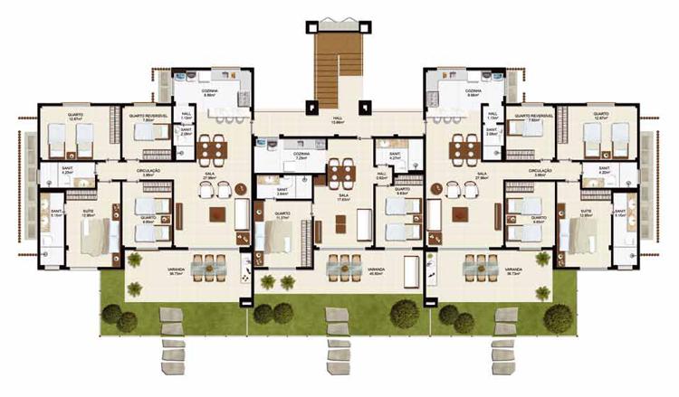 Promociones inmobiliarias en punta cana y praia do forte for Plano de cocina hotel 5 estrellas